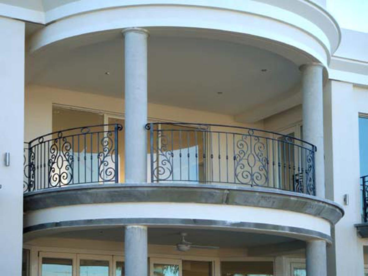 Wrought Iron Balcony 02