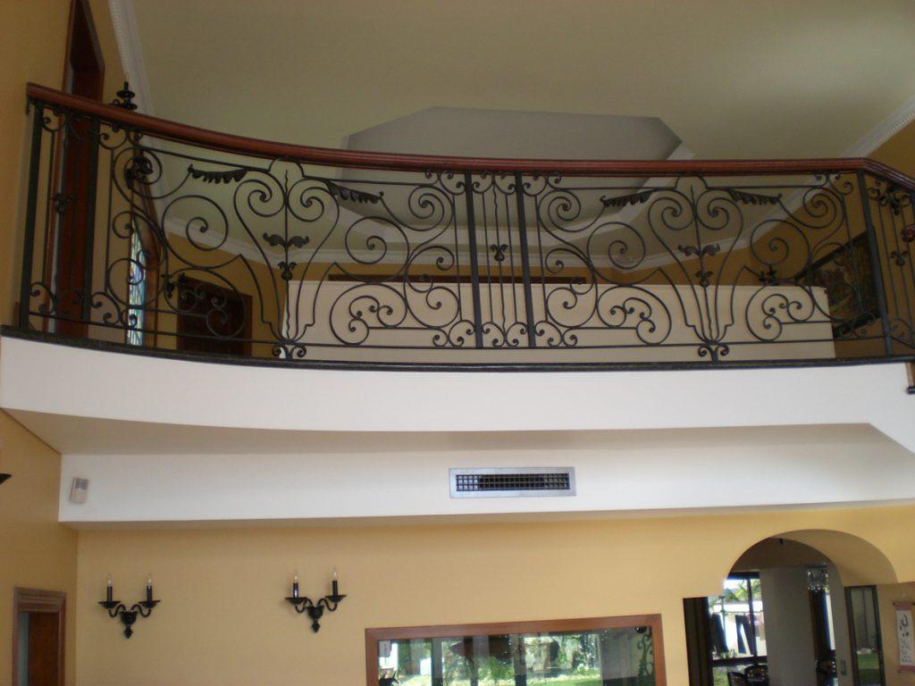 Wrought Iron Staircase 12