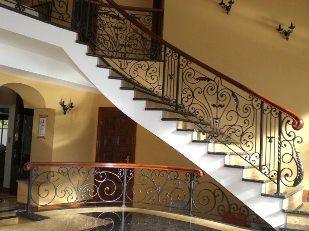 Wrought Iron Staircase 11