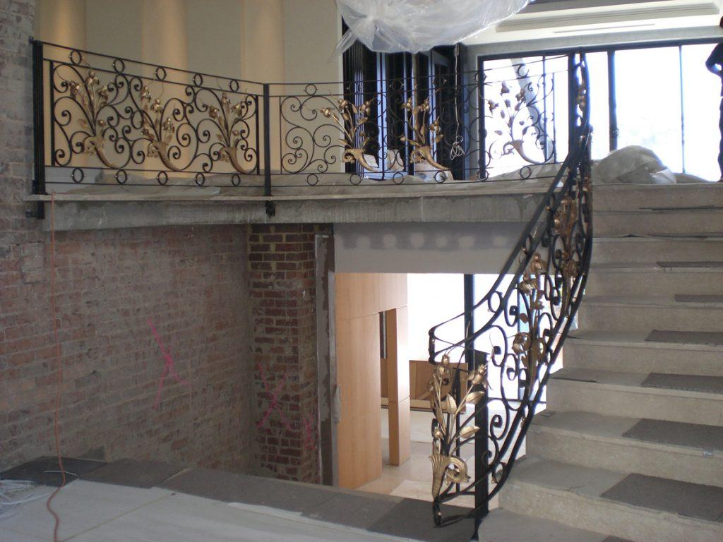 Wrought Iron Staircase 10