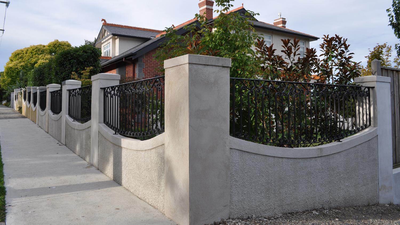 Wrought Iron Fence 05