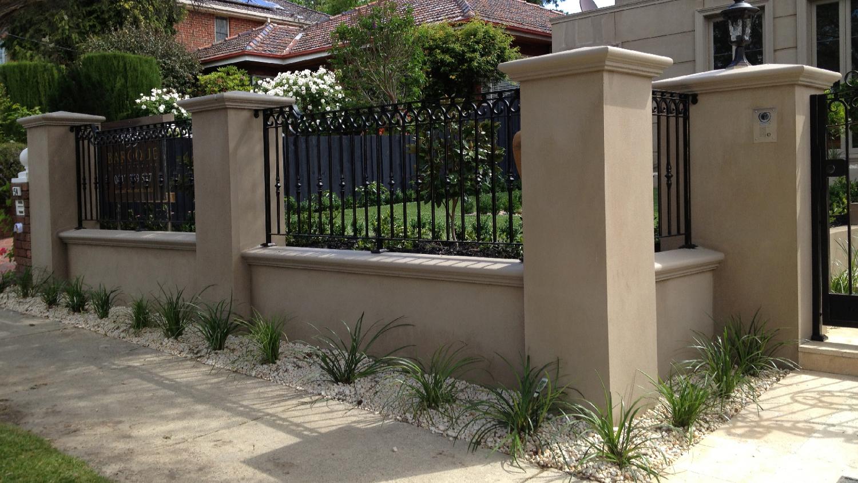 Wrought Iron Fence 06