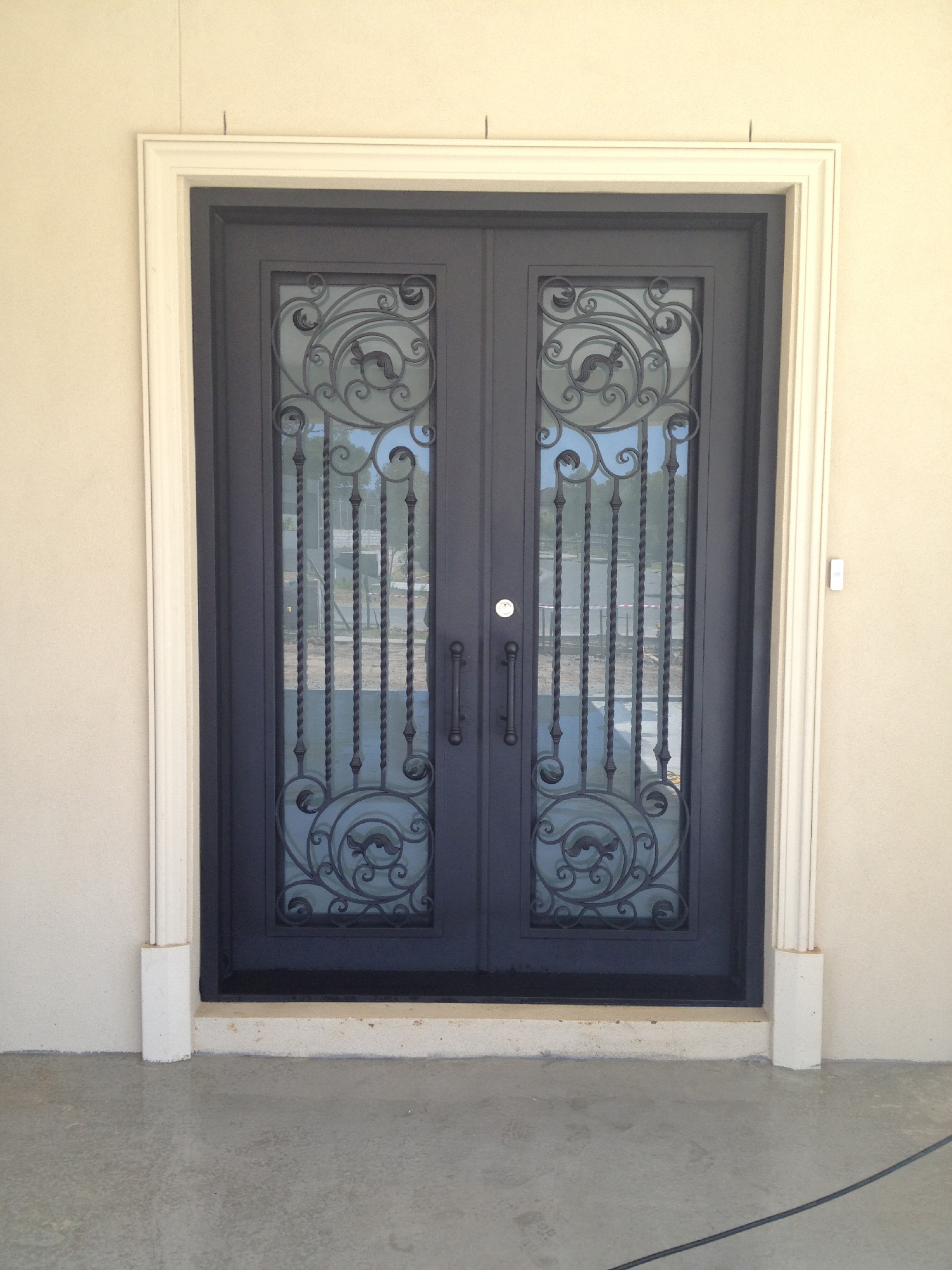 wrought iron entry and security doors in melbourne