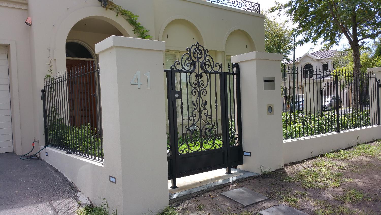 Wrought Iron Fence 03