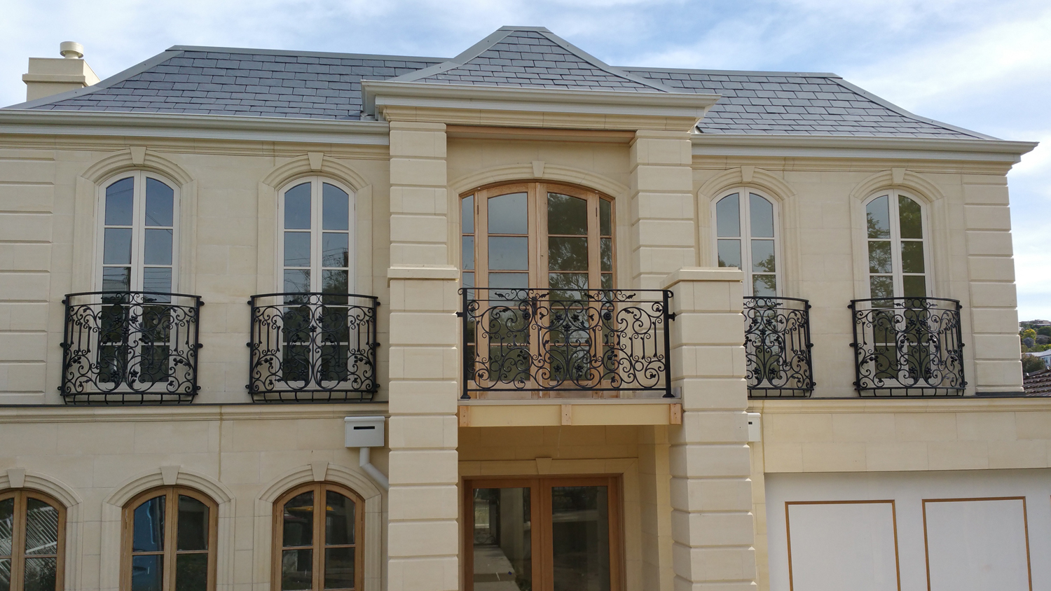 Wrought Iron Balcony 01