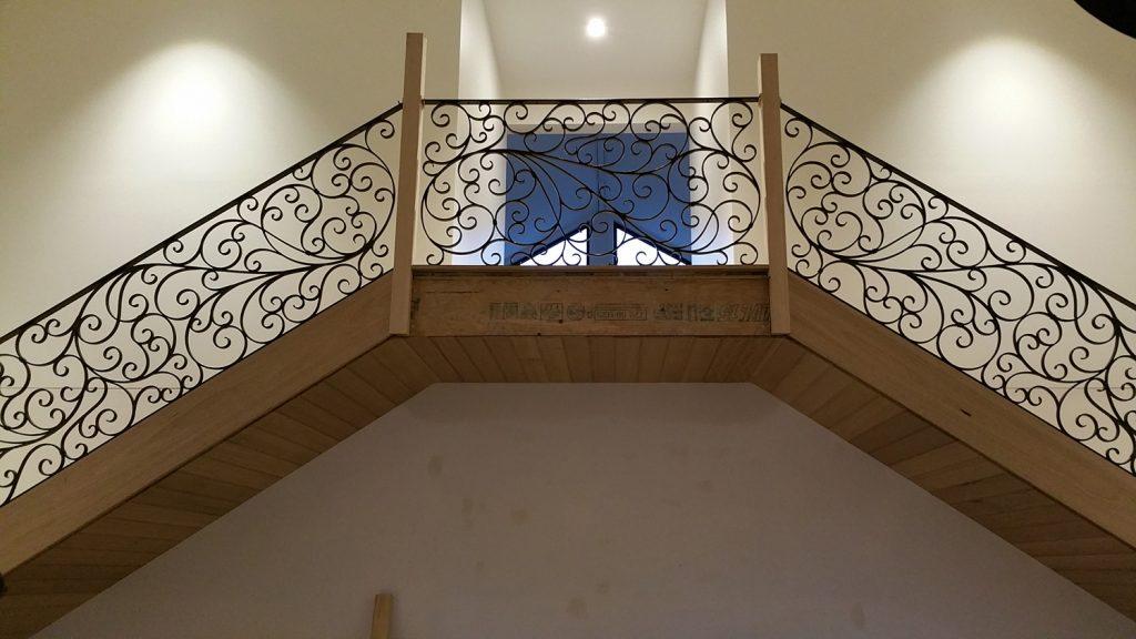 Wrought Iron Staircase 15