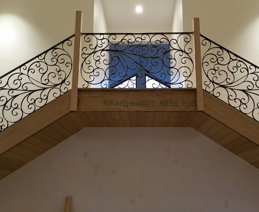 Wrought Iron Staircase 15
