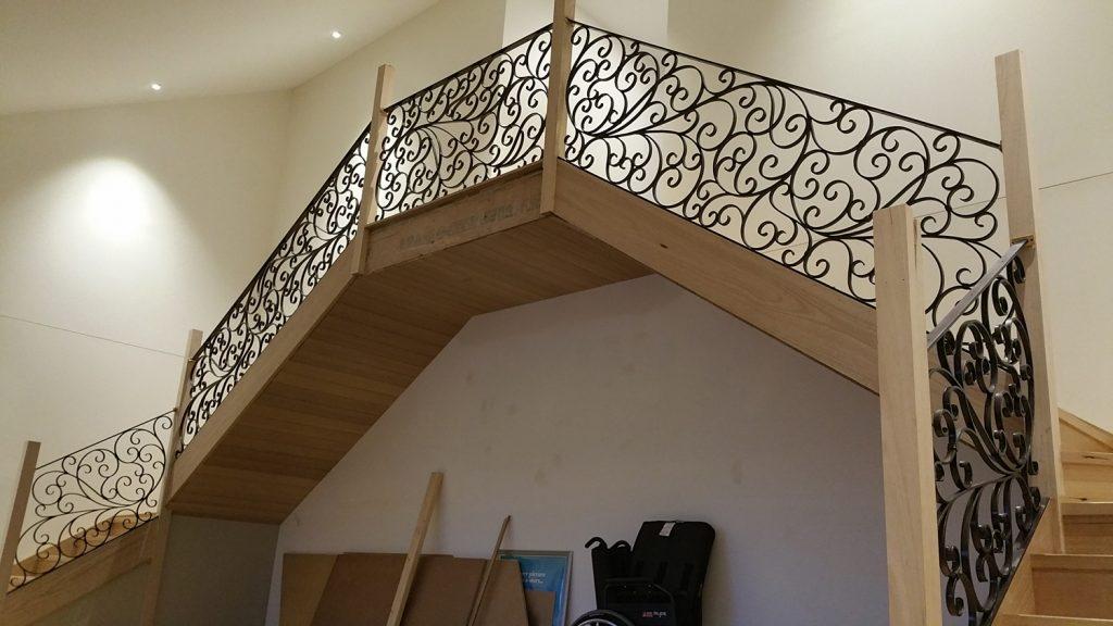 Wrought Iron Staircase 14