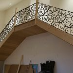 Wrought Iron Staircase 14