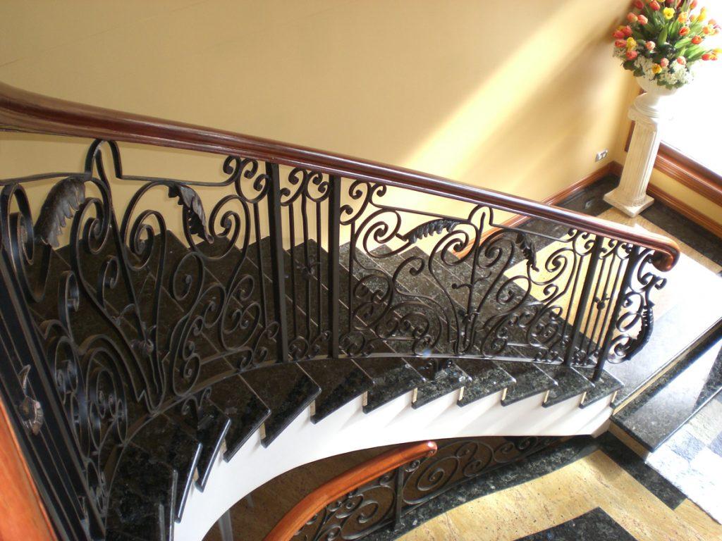 Wrought Iron Staircase 13