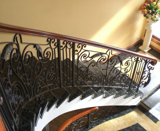 Wrought Iron Staircase 13
