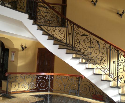 Wrought Iron Staircase 11