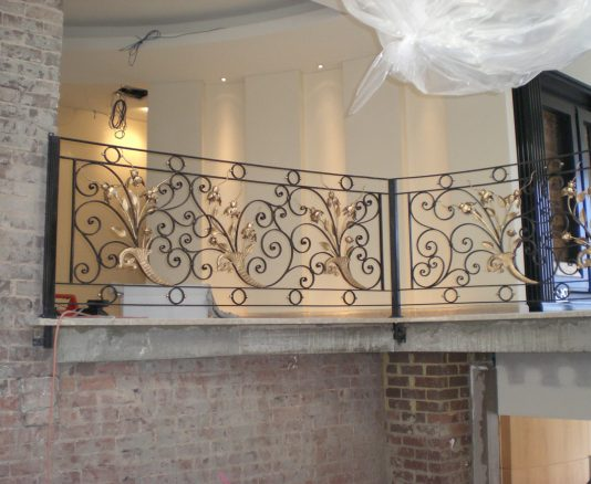 Wrought Iron Staircase 09