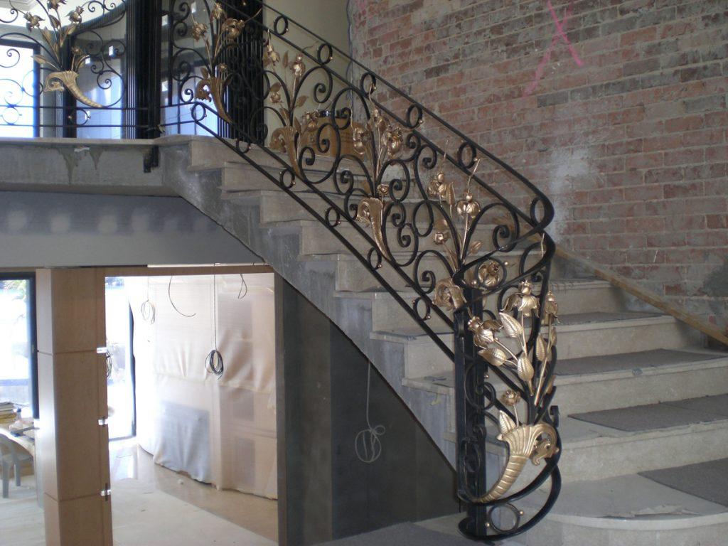 Merveilleux ... Wrought Iron Staircase 08 ...