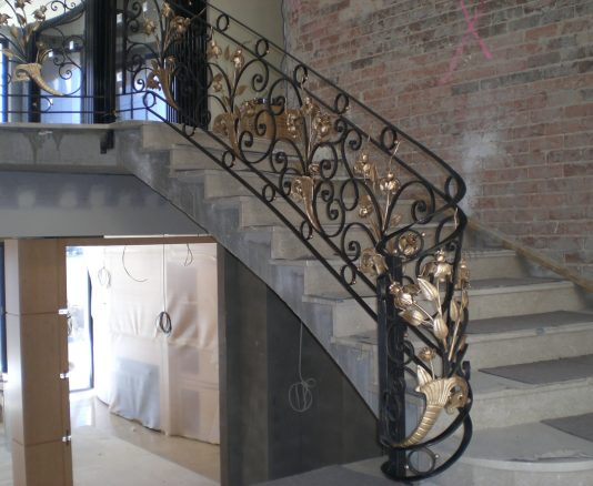 Wrought Iron Staircase 08