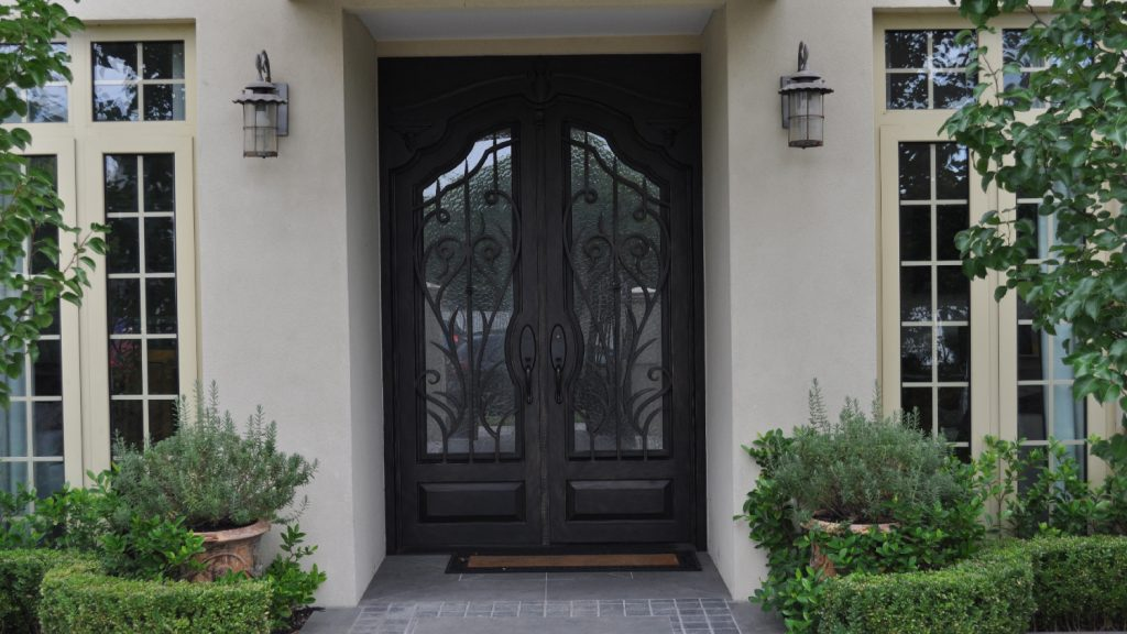 Wrought Iron Entry Doors 02