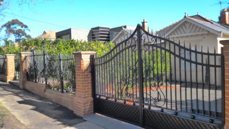 Buying wrought iron gate