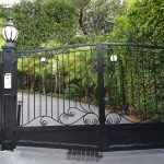 Wrought Iron Security Driveway Gate 03