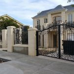 Wrought Iron Security Driveway Gate 02