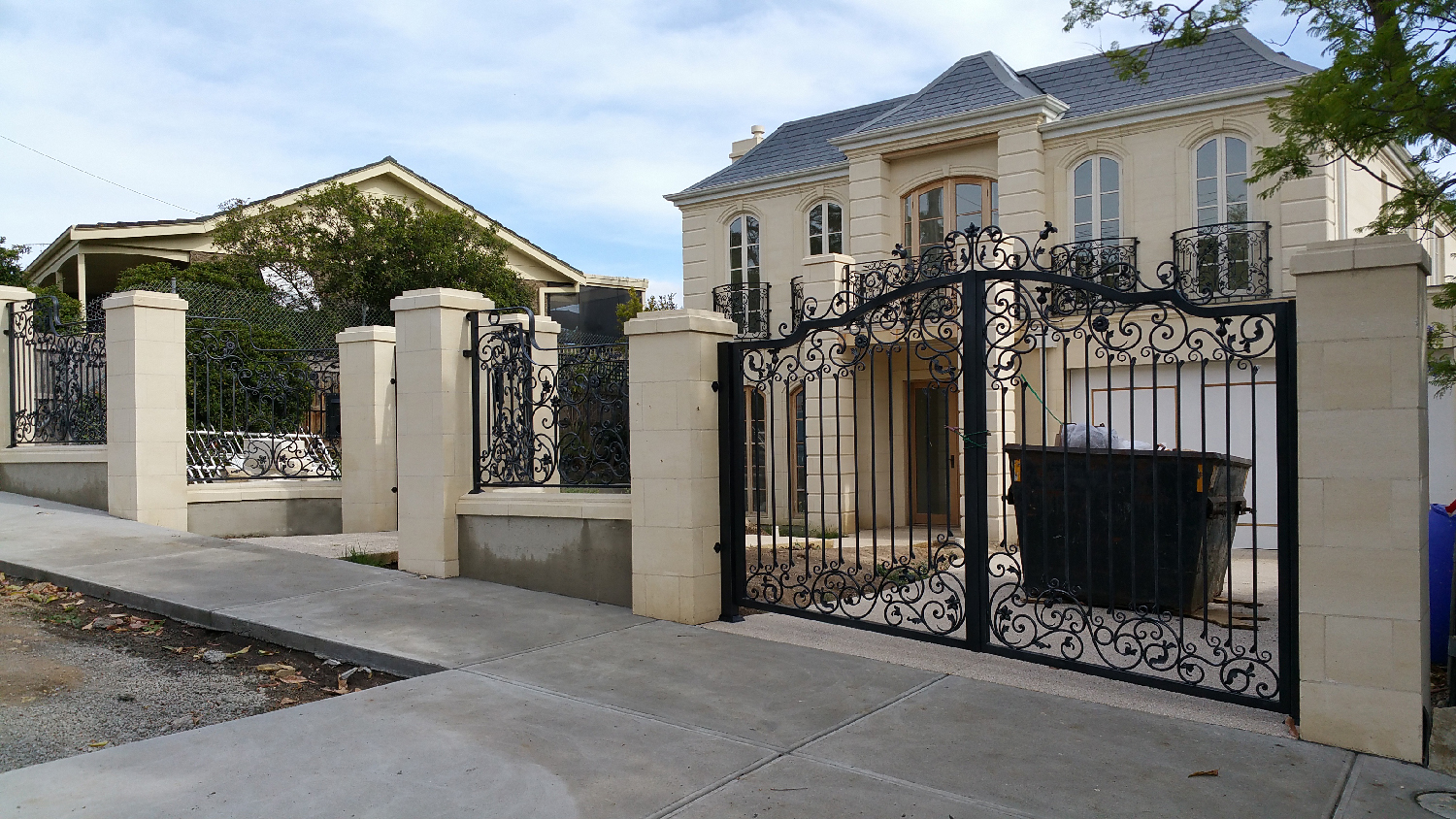 Wrought Iron Driveway Gates Melbourne Elegance In Iron
