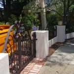 Wrought Iron Security Driveway Gate 04