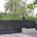 Wrought Iron Security Driveway Gate 07