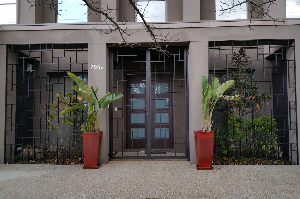 Wrought Iron Security Gate 01