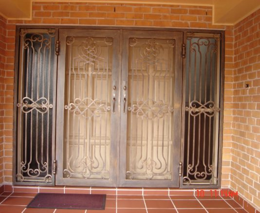 Wrought Iron Security Gate 02