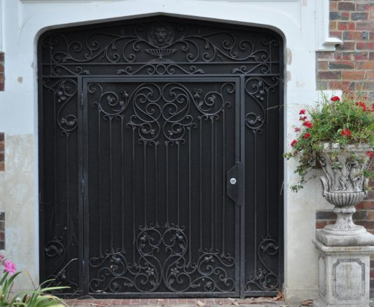 Wrought Iron Security Gate 03