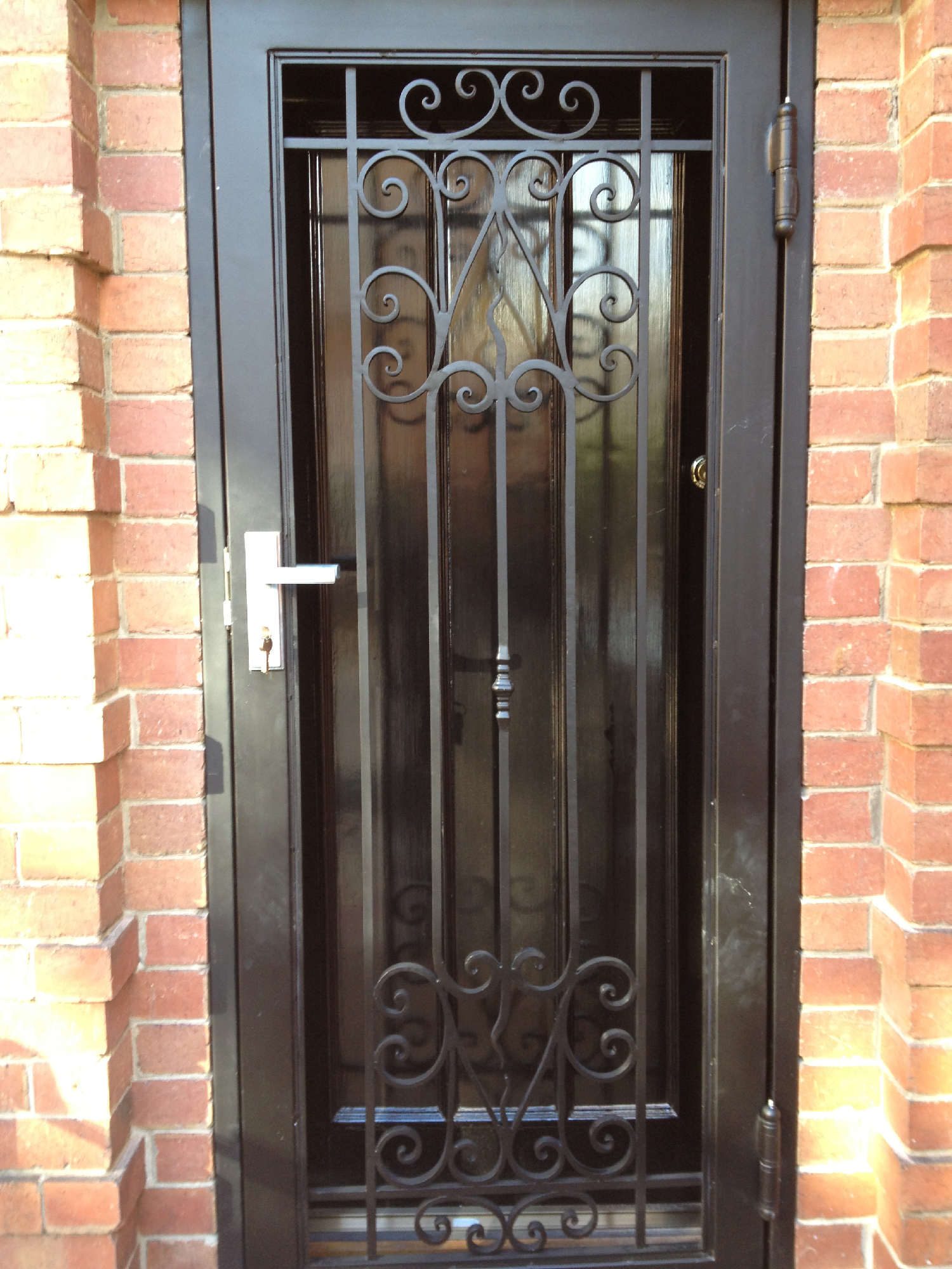 Wrought Iron Security Gates In Melbourne Elegance In Iron